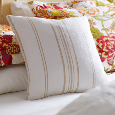 Anita Pillow Cover Size: 20 x 20, Color: Natural