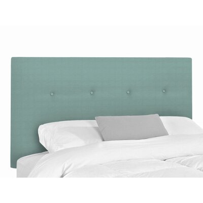 Victor Upholstered Headboard Size: King, Upholstery: Hilo Turquoise