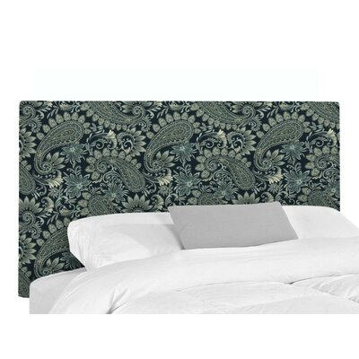 Victor Upholstered Headboard Size: King, Upholstery: Nadia Denim