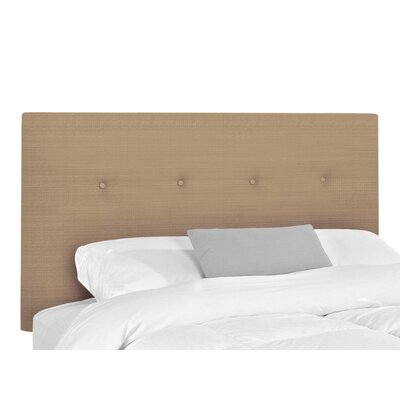 Victor Upholstered Headboard Size: King, Upholstery: Clay Basketweave