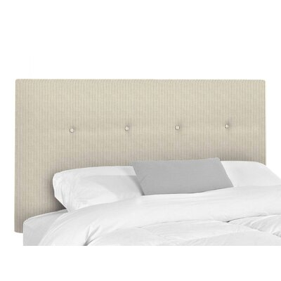 Victor Upholstered Headboard Size: King, Upholstery: Astere Cocoa