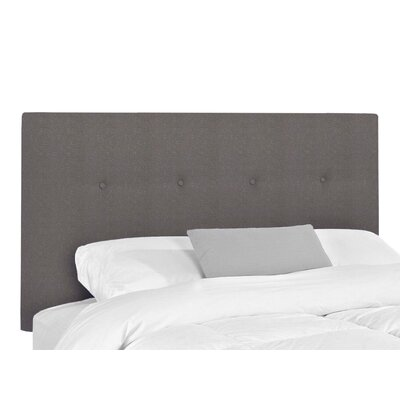 Victor Upholstered Headboard Upholstery: Lizzy Graphite, Size: King