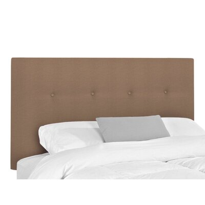 Victor Upholstered Headboard Size: King, Upholstery: Lizzy Hemp
