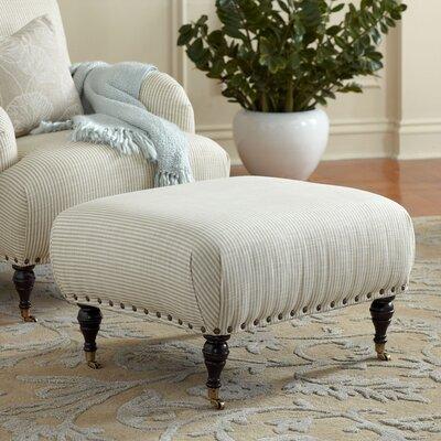 Shephard Ottoman Upholstery: Oakley Ivory