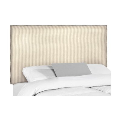 Wyatt Upholstered Headboard Size: Queen, Upholstery: Astere Cocoa