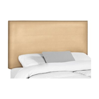 Wyatt Upholstered Headboard Upholstery: Disco, Size: King