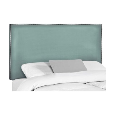 Wyatt Upholstered Headboard Size: Queen, Upholstery: Hilo Turquoise