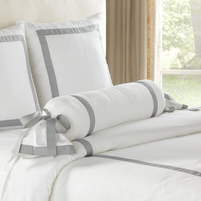Celina Bolster Color: Gray & White
