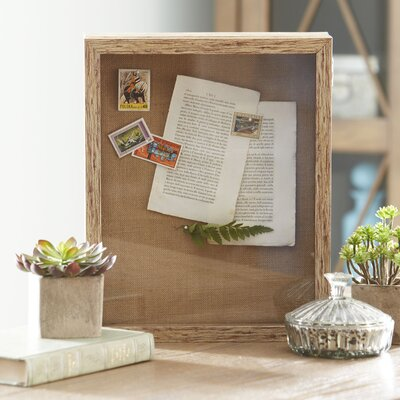 Roselle Shadow Box Finish: Natural