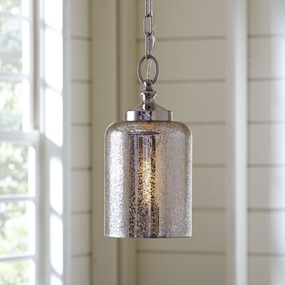 Bosworth Mini Pendant Size: 13.38 H x 6.5 D