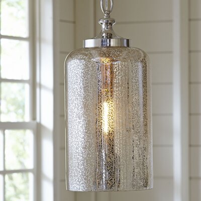 Bosworth Mini Pendant Size: 19.88 H x 9 D