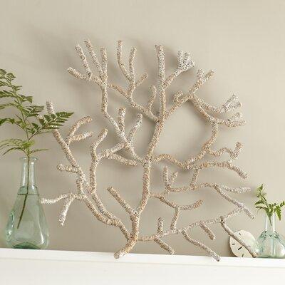 Seagrass-Wrapped Coral Decor