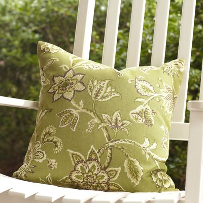 Eveline Outdoor Pillow Size: 22 x 22, Color: Olive