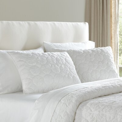 Melody Sham Size: Standard, Color: White