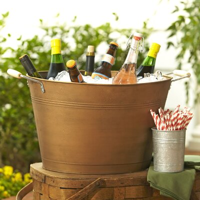 Cawley Beverage Tub Finish: Copper