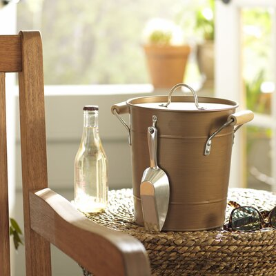 Cawley Ice Bucket with Scoop Finish: Copper