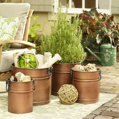 Hamel Round Planters