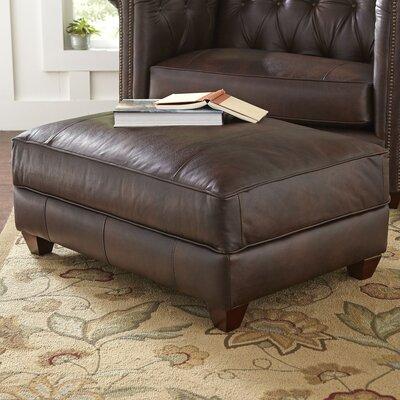 Hawthorn Leather Ottoman Upholstery: Vinta Ash