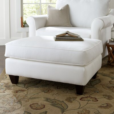 Brooke Ottoman Upholstery: Spinnsol Natural