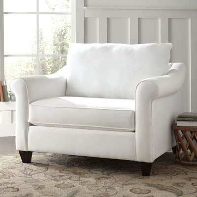 Brooke Armchair Upholstery: Oakley Ivory