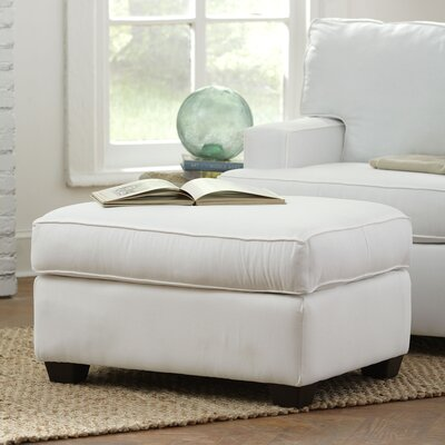 Clarkedale Ottoman Upholstery: Spinnsol Natural