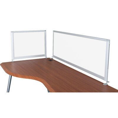iFlex 17 H Desk Privacy Panel Width: 58, IFlex Privacy Panels: Porcelain