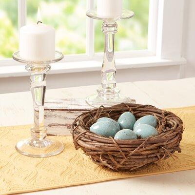 Starling Eggs & Nest Decor