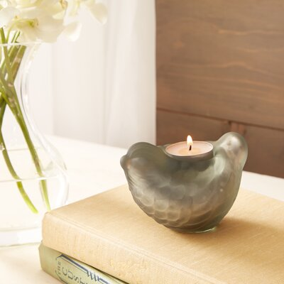 Sparrow Votive Holder