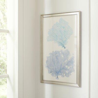 Azure Coral Framed Print II