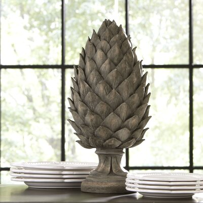 Estate Pinecone Statue