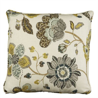 Ellis Pillow Fabric: Mix Aloe