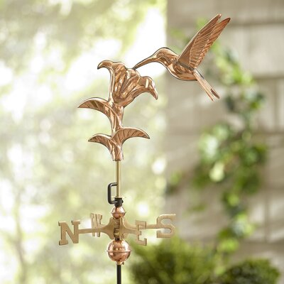 Garden Hummingbird Weathervane