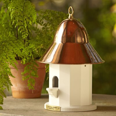 Wilhemina Birdhouse Color: Polished Copper