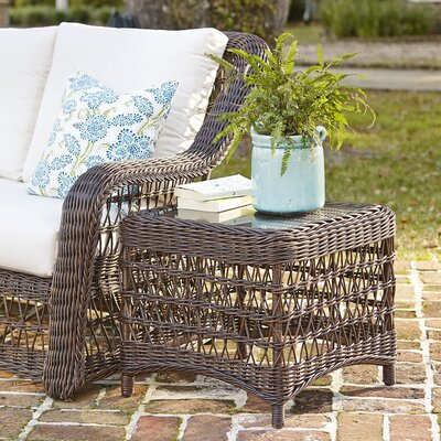 Rosemead Wicker Side Table