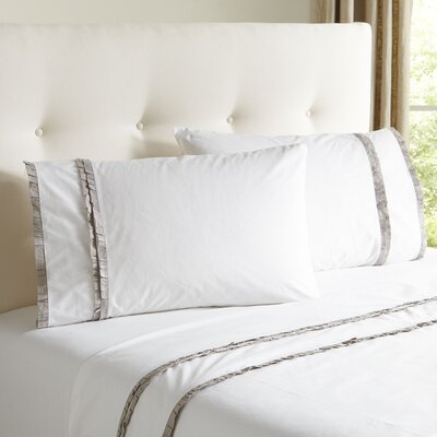 Marisol Sheet Set Size: King, Color: Stone