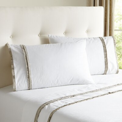 Marisol Sheet Set Size: King, Color: Parchment
