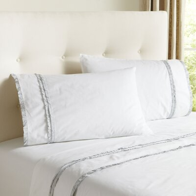 Marisol Sheet Set Color: Sky, Size: Queen