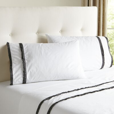 Marisol Sheet Set Size: Twin, Color: Steel Blue