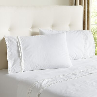 Marisol Sheet Set Size: Queen, Color: White