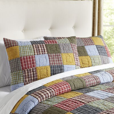 Sheldon Patchwork Sham Size: King