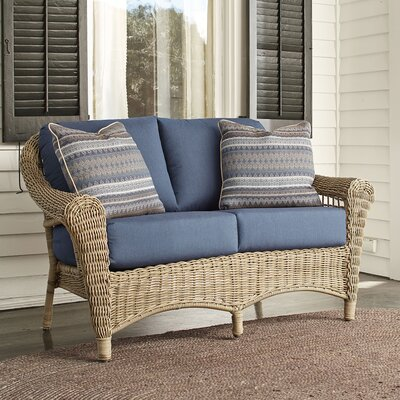 Lynwood Loveseat with Sunbrella Cushions