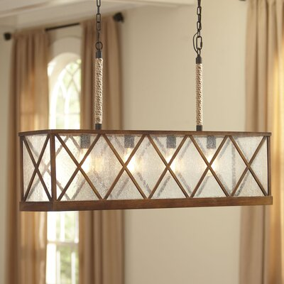 Aspen 4-Light Drum Chandelier