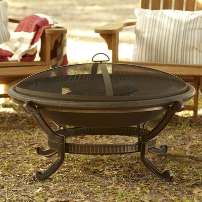 Ellison Cast iron Wood Burning Fire pit