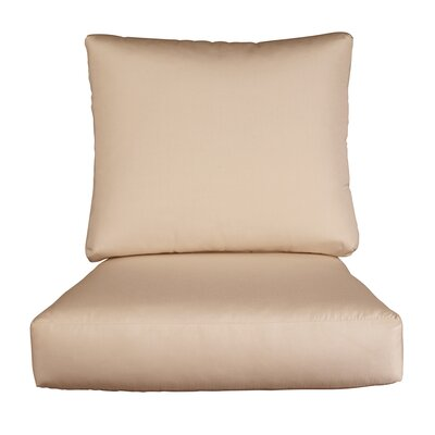 Lynwood Loveseat Sunbrella� Cushions Color: Sunbrella Sand