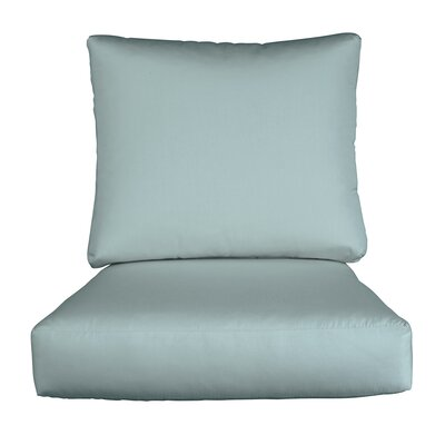 Lynwood Loveseat Sunbrella� Cushions Color: Sunbrella Mist