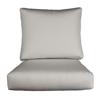 Lynwood Loveseat Sunbrella� Cushions Color: Sunbrella Granite