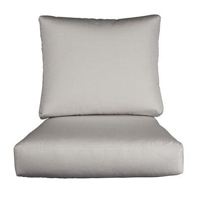 Lynwood Loveseat Sunbrella Cushions Color: Sunbrella Granite