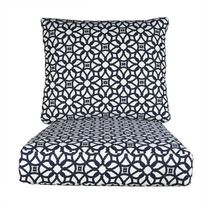 Lynwood Loveseat Sunbrella� Cushions Color: Sunbrella Luxe Indigo