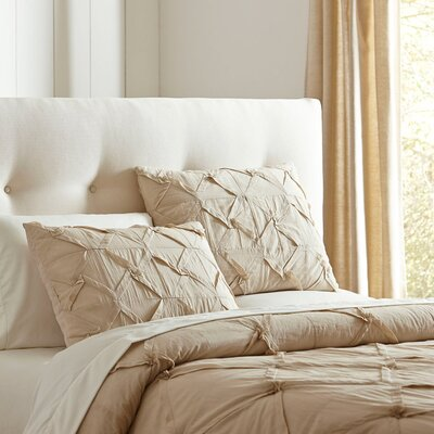 Genevieve Quilt Set Size: King, Color: Natural