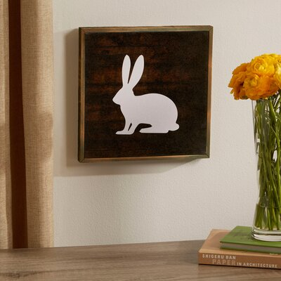 Bunny Woodland Wall Art